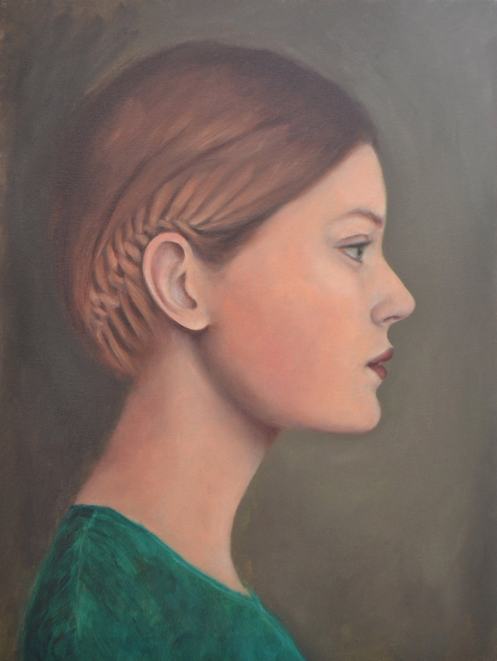 Untitled (Girl in Profile)