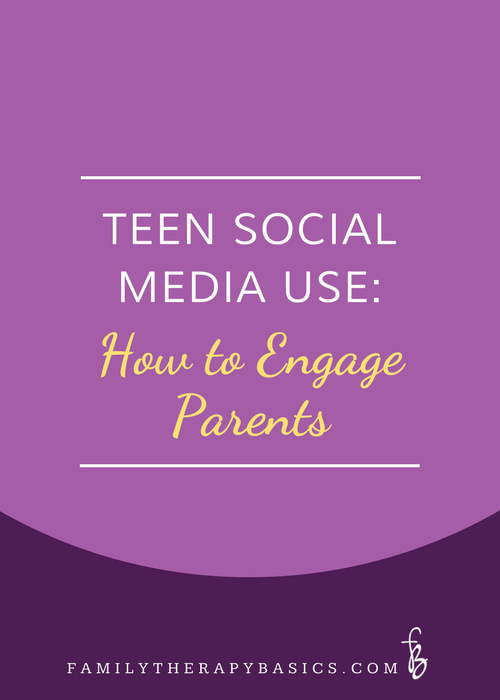 Child and Youth Social Media Use: How to Engage Parents in this topic