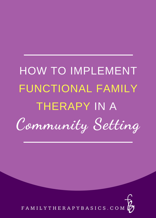 How to Implement FFT in a Community Setting