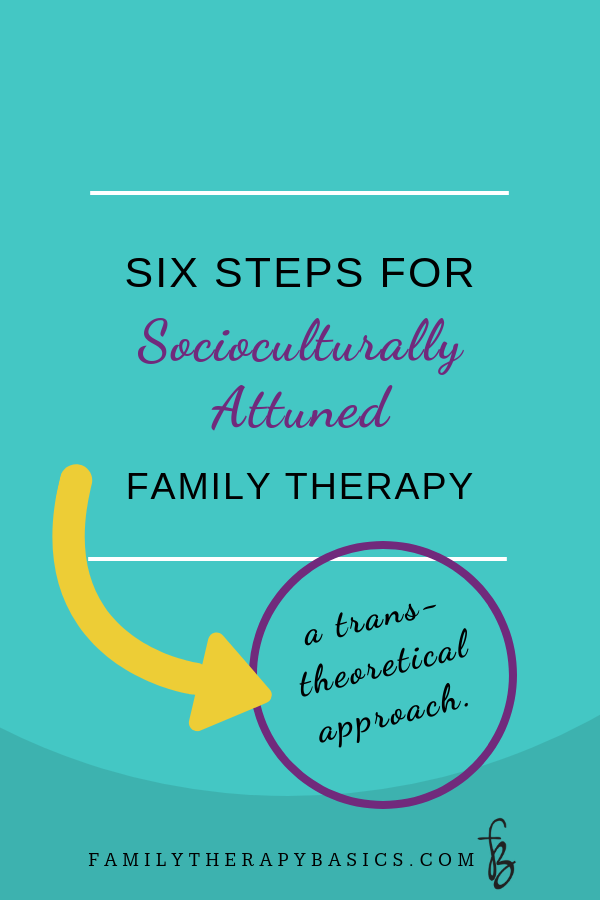 Six Steps for Socioculturally Attuned Family Therapy