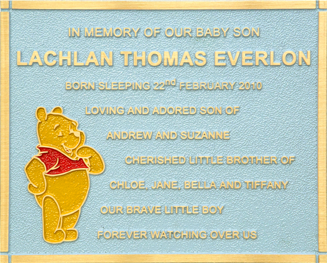 Bronze Plaque Custom