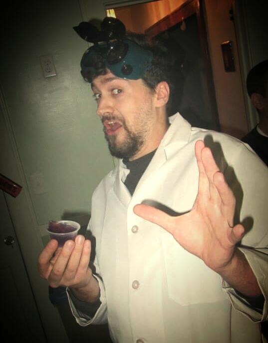 "Brian ""Science"" Siecienski  Graphic Designer & Event Announcer"