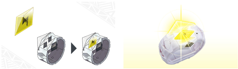 Concept art & Image for the TOMY International Z-Ring accessory for Pokémon Sun & Moon