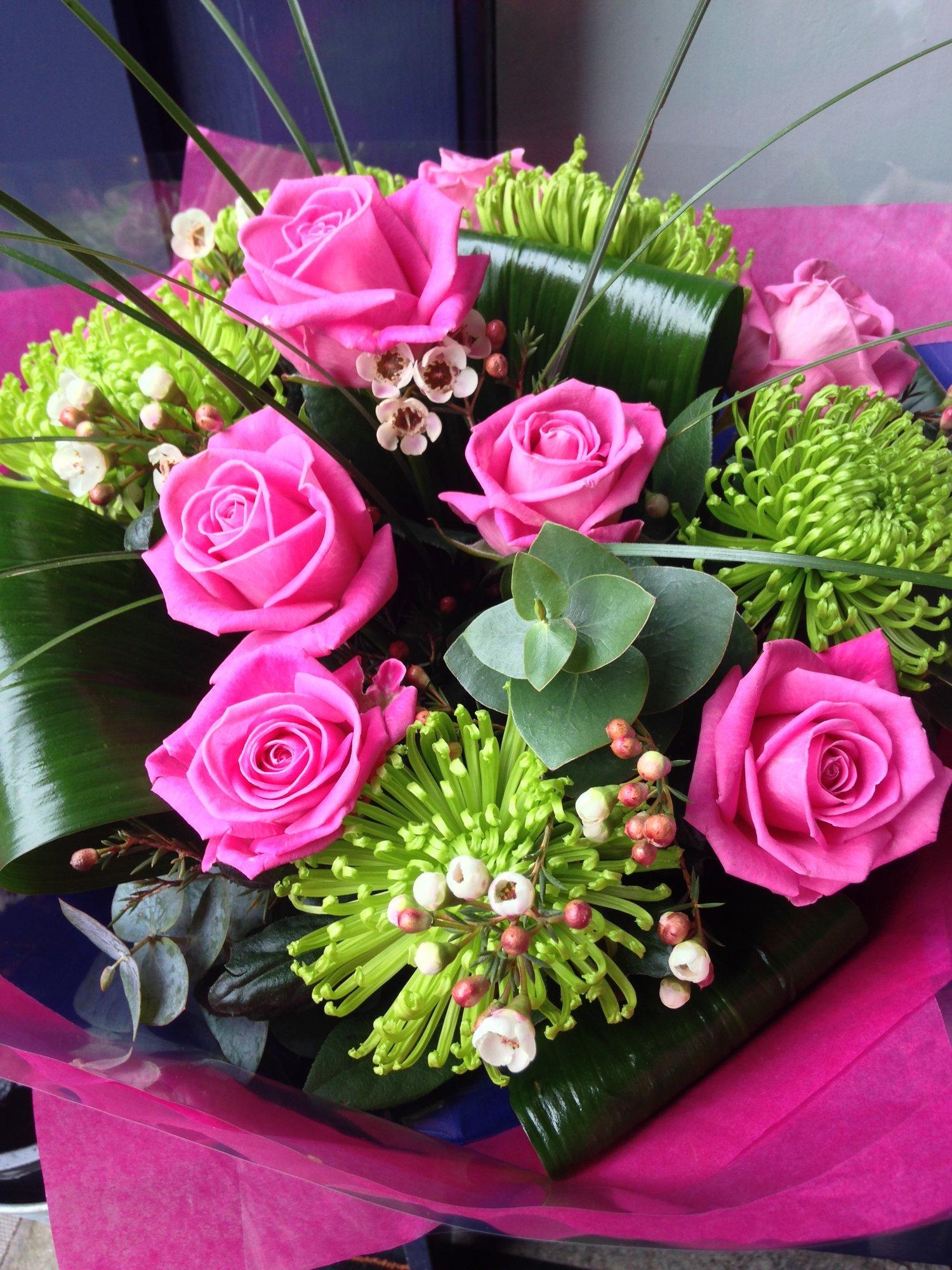 Lookbook cork flower studio lime pink mightylinksfo