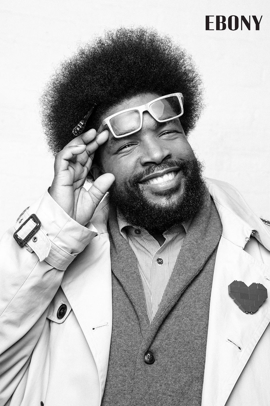 Questlove- Ebony Magazine