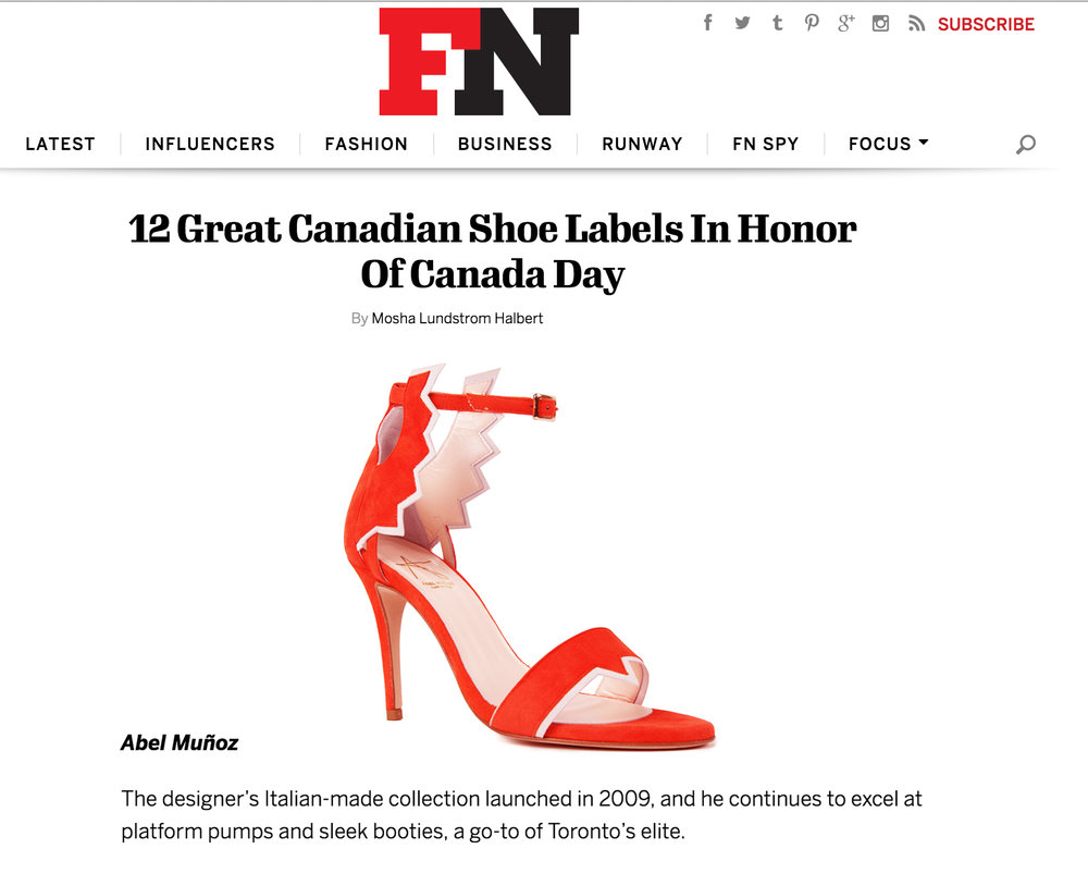 Footwear News New York