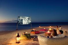 Movie Beach Night