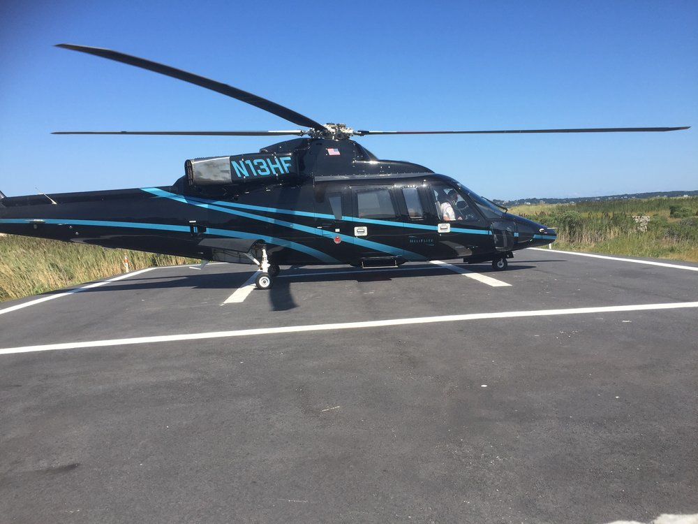 Helicopter Tours: Hamptons -  Block Island