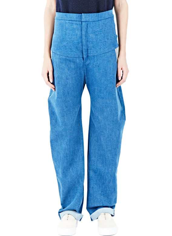 Oversized jean