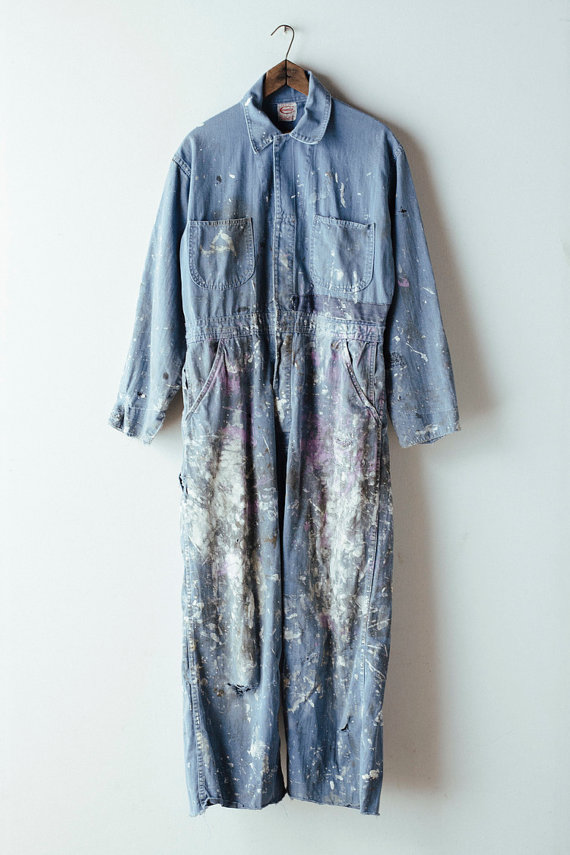 Destroyed Painter Coverall   £115