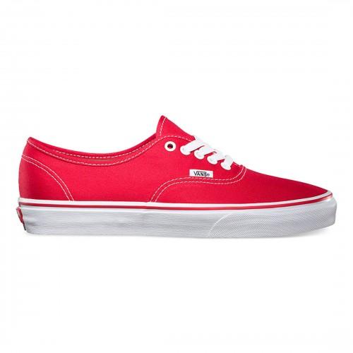 CLASSIC RED VANS