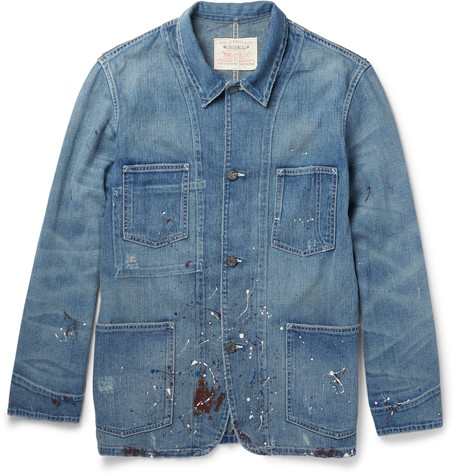 LVC Paint-Splattered Denim Jacket