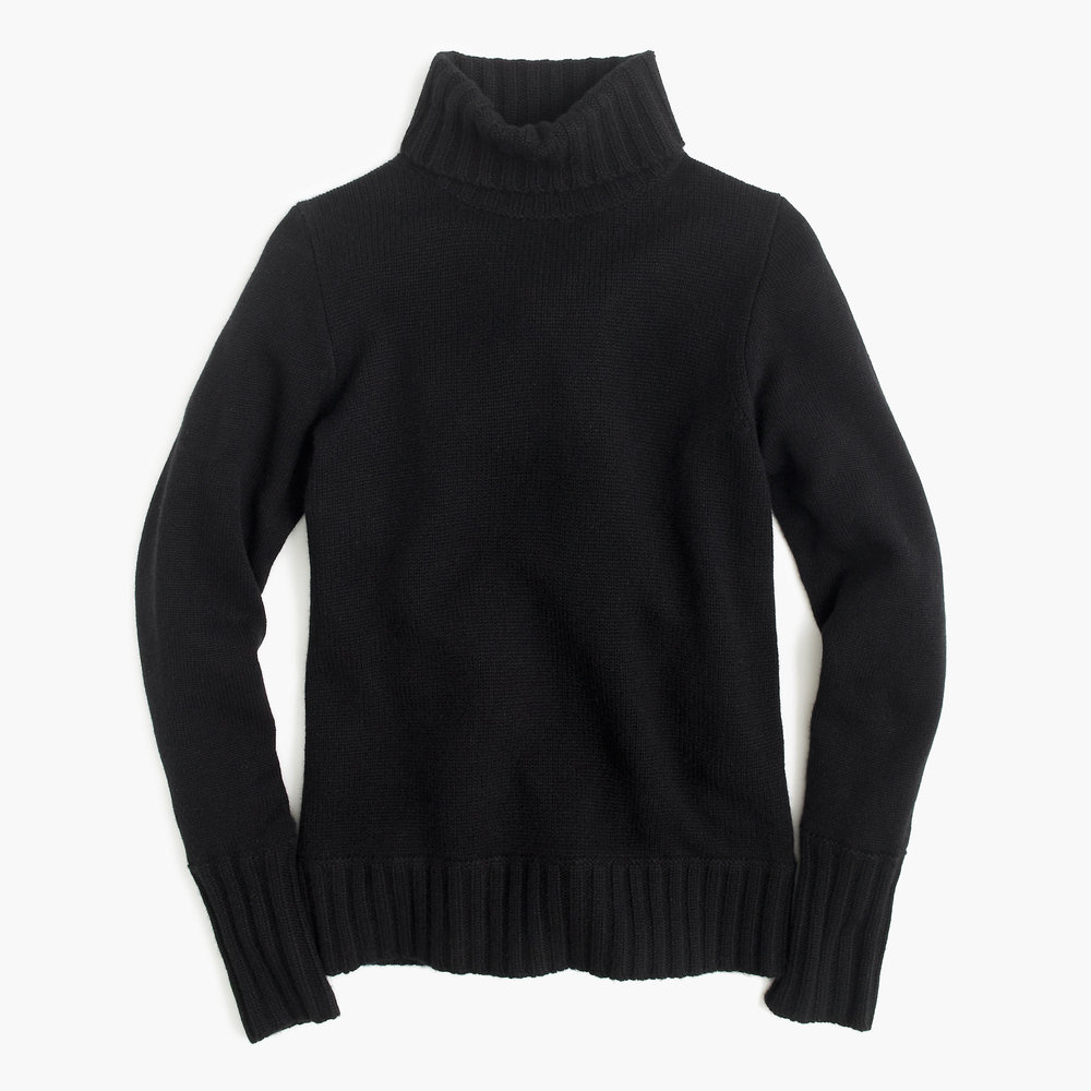 Ribbed Turtle Neck in Italian Cashmere - £149.00 (Reduced from £298) - J Crew - (Comes in several colours!)