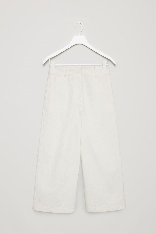 COS: Wide Leg Crepe Trouser -£69