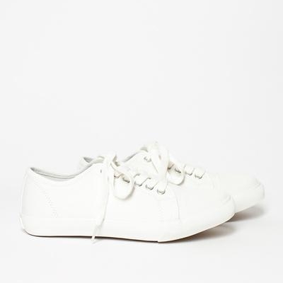 Off White Military Plimsole MARGARET HOWELL - £85