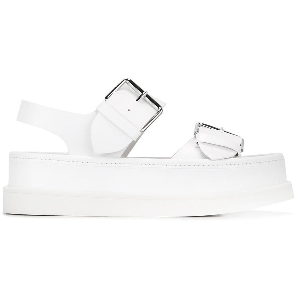 STELLA MCCARTNEY  flat buckle sandals -£535