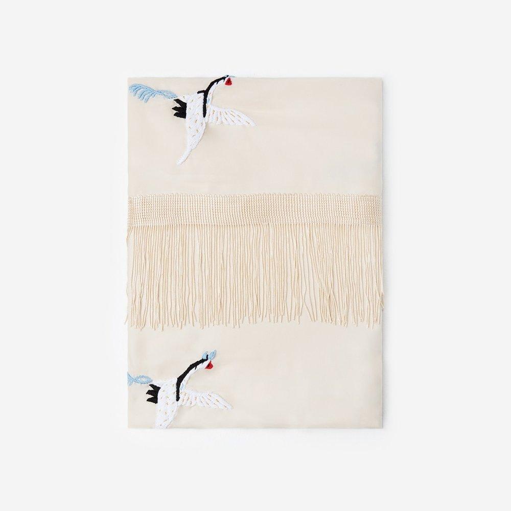 The Kooples white silk scarf - £195
