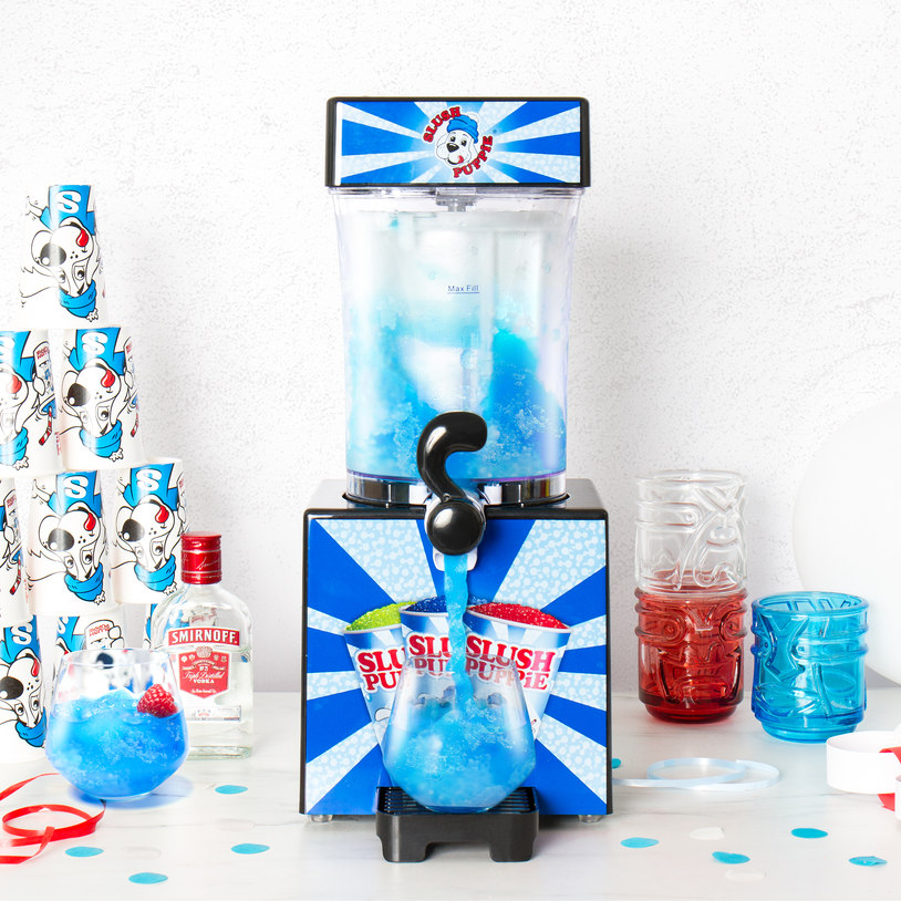Slush Puppy Machine - Take your friend down memory lane with the gift of nostalgic slush puppies!Blue tongue or red?£60.00 (+ £5.99 for the syrup)