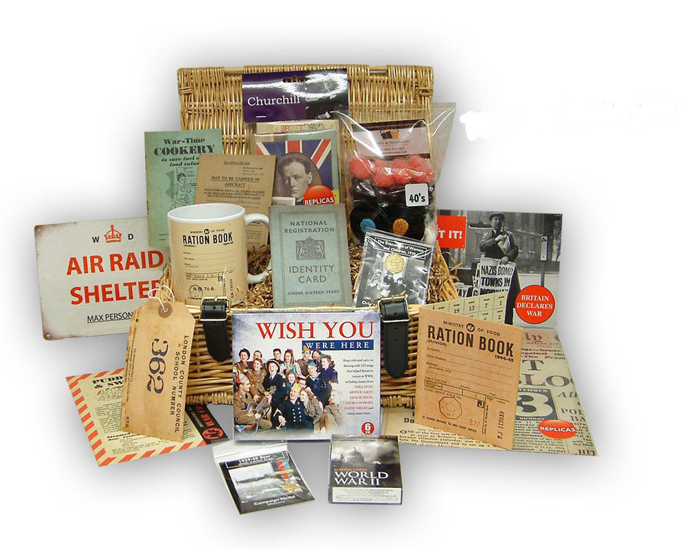 Nostalgic Hamper - Pick your year and design your own hamper filled with nostalgia and treats of your chosen era.£60