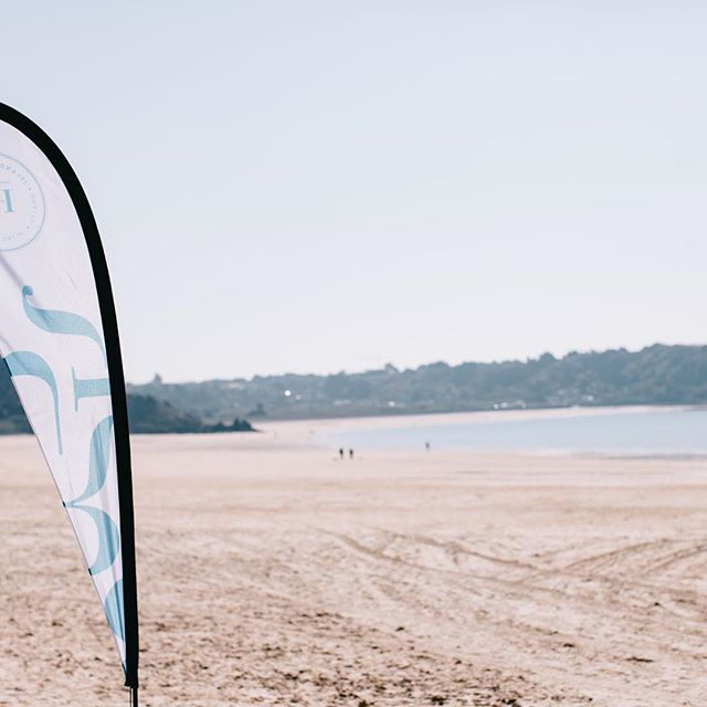 Our very own St Brelades bay.  Have you ever trained anywhere so perfect? #health #fitness #mindset #oceanair #fitnessholiday #retreat2017 #surfing #beachlife #jerseyci #travel #instatravel #rediscover #lifestyleretreat #islandbreak #shortbreak