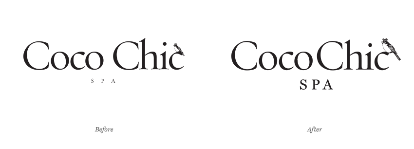 Coco Chic Type Therapy logo