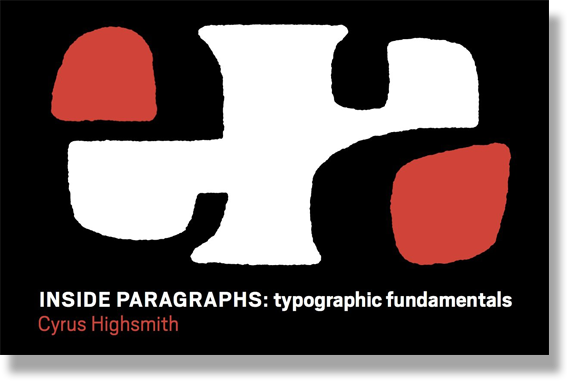 Inside Paragraphs Typographic Fundamentals