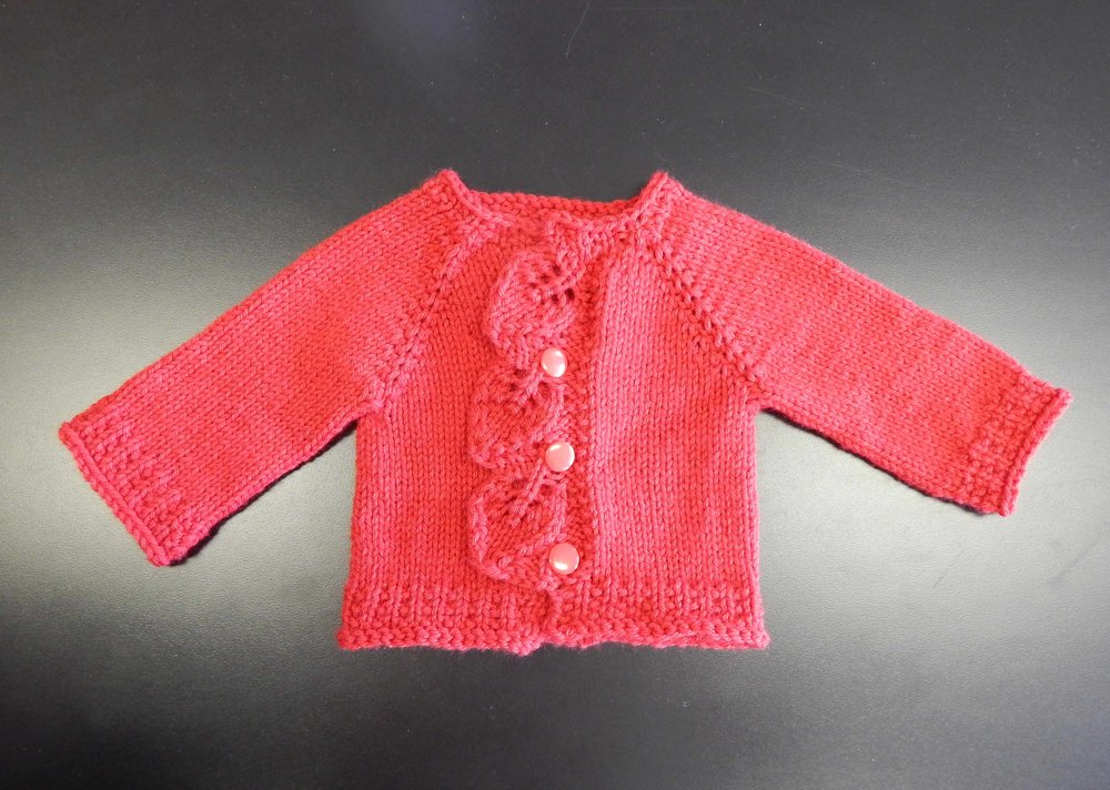 Cascade Baby Sweater