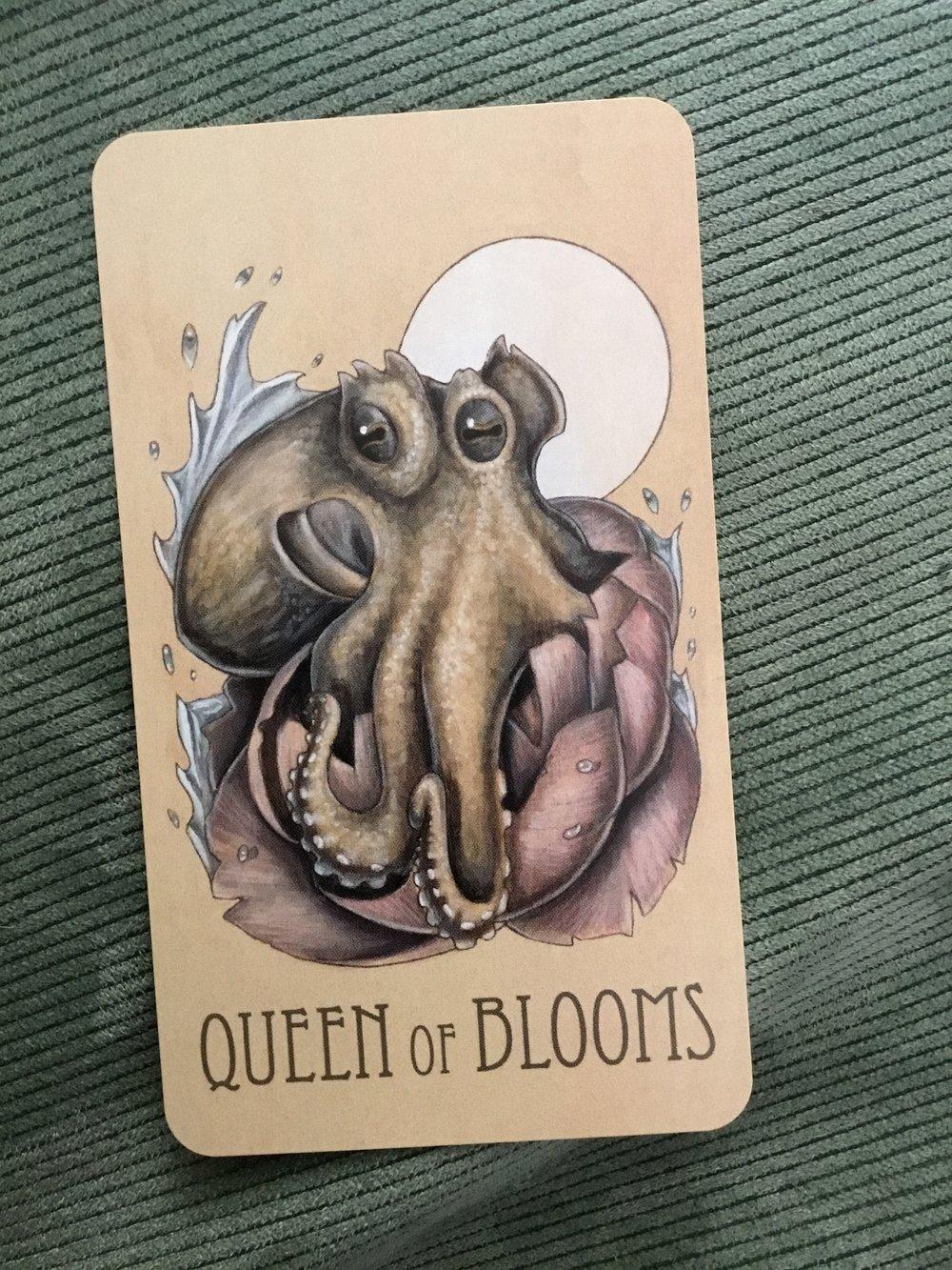 The Wooden Tarot deck