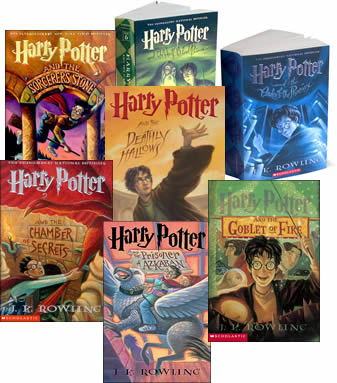 The Harry Potter Series    by J.K. Rowling  Because it is free on Kindle and because they are GREAT (and TBH I never finished the series as a kid...better late than never!)
