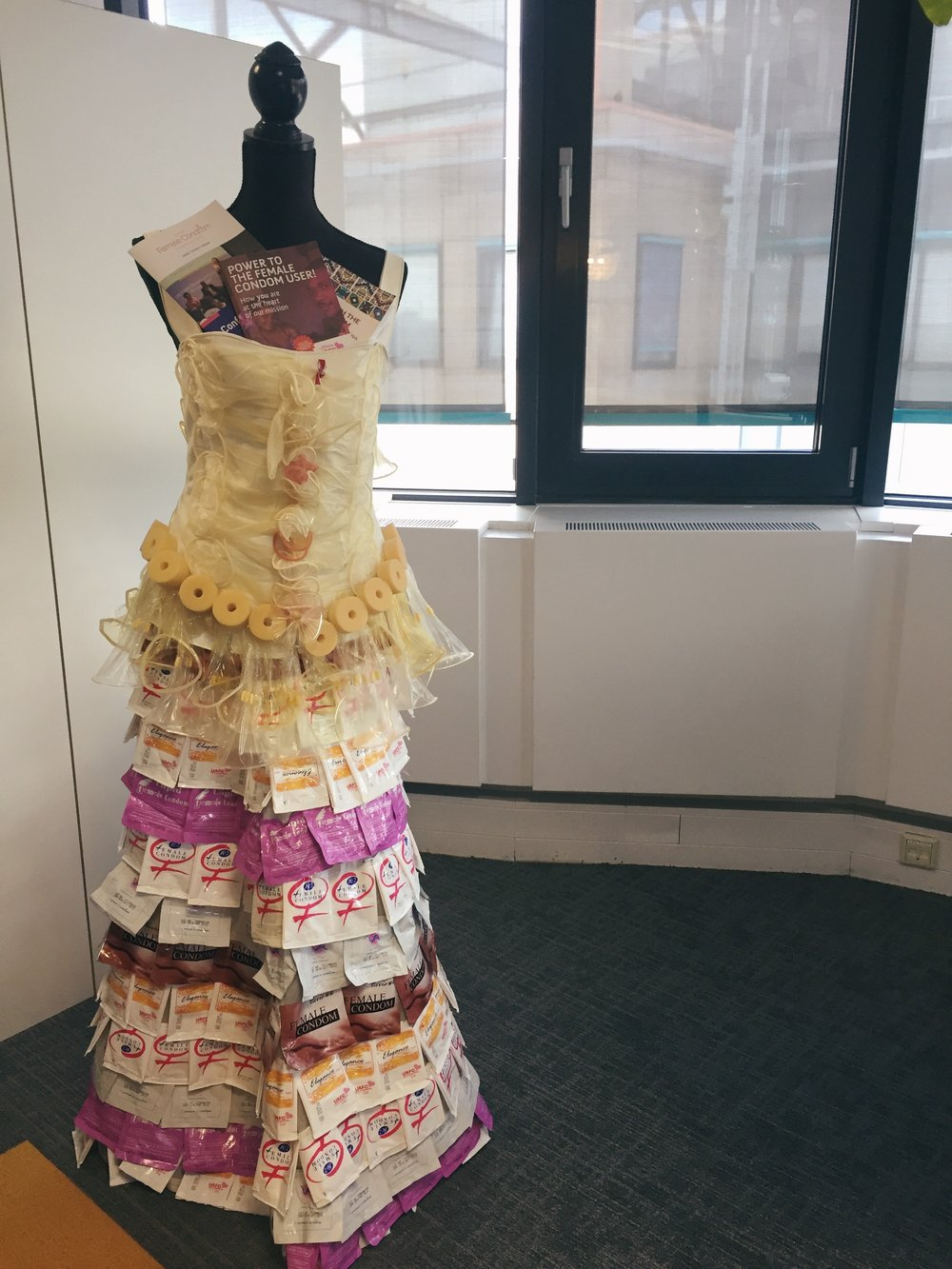 I mean, worse comes to worse and you don't like Internal Condoms, you can always make a dress out of them <3