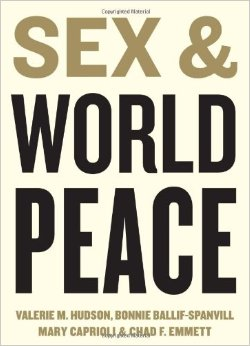 Sex & World Peace by Valerie Hudson, et al.   Statistics and sex junkies rejoice (oh just me...oh well). This shocking book incorporates statistical analysis and women's own words on how world peace (from economics to war and more) and sex (gender and intercourse and all the other connotations) interact. If you are looking for some pull quotes or a reason to get involved with women, this may be the book for you. Shock friends at the dinner table with just how bad women can have it, yet how much we do for the world.