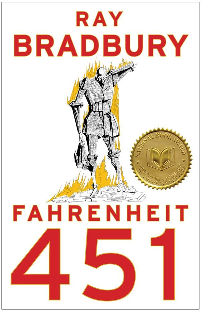 Farenheit 451  by Ray Bradbury ** Another dystopian novel in the face of 2016. Although in light of the other ones, this was my least favorite. But I do like the message that books come in all forms and it is up to us what we do with the messages we find in books.
