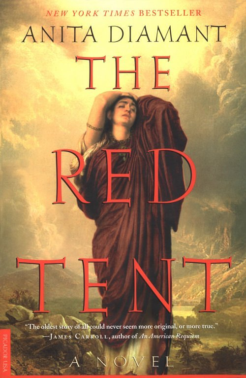 The Red Tent  by Anita Diamant.* I read this book the first time when I was between 15-18, and considering I just started a fundraiser in it's namesake, I thought it was an appropriate time to re-read. This is the story of Dinah, Jacob's only daughter, and her experience as the one who learned her mother's stories in the Red Tent (the menstrual tent) and her work as a midwife. Beautifully written and speaks to the strength of women.