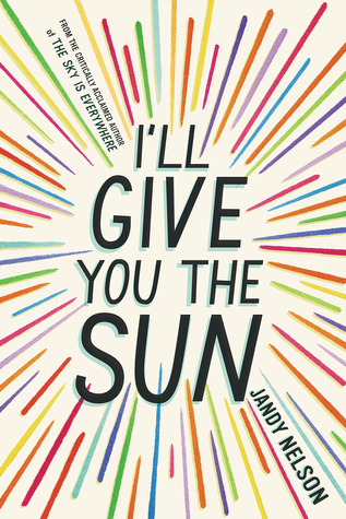 I'll Give You The Sun  by Jandy Nelson.**  I could not put this book down, I read it in two days, maybe less. The story of two twins- Jude and Noah. It is a story about art and love and the secrets we keep to protect people. Plus there is some great romance that actually made me squeal with excitement.