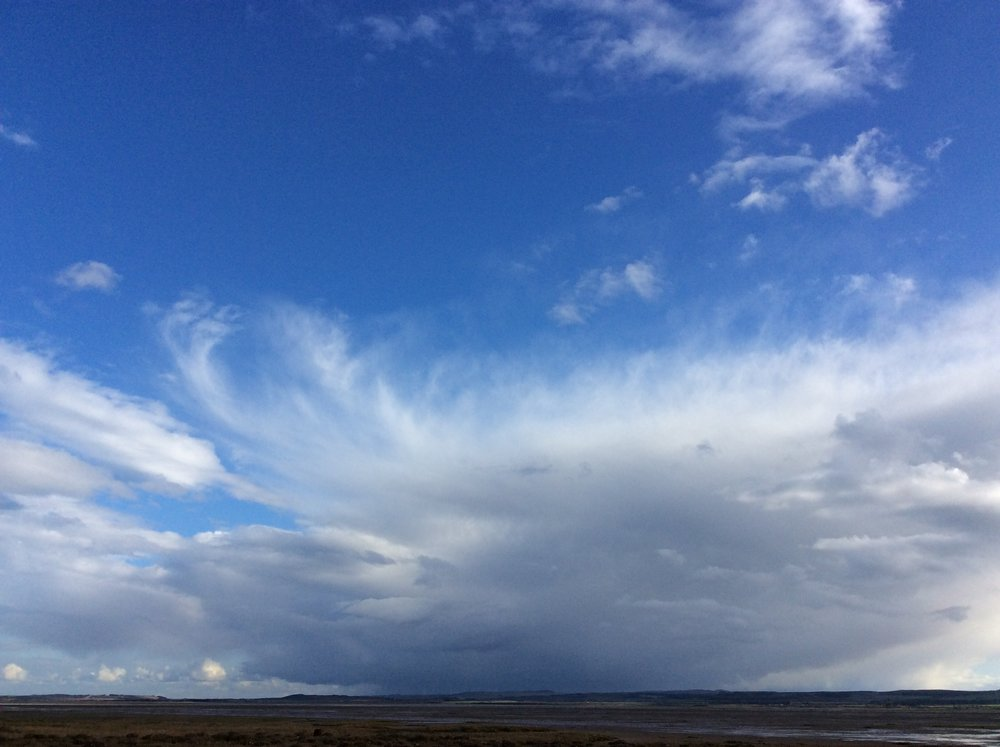 The On and On-ness of a Scottish Sky