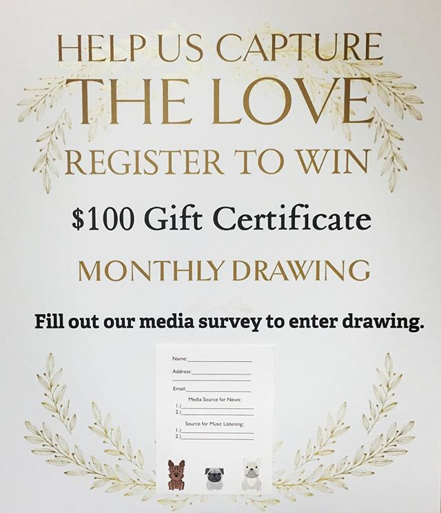 Click on the image above to sign up and enter to win. And thanks for your interest. ~David & Delores