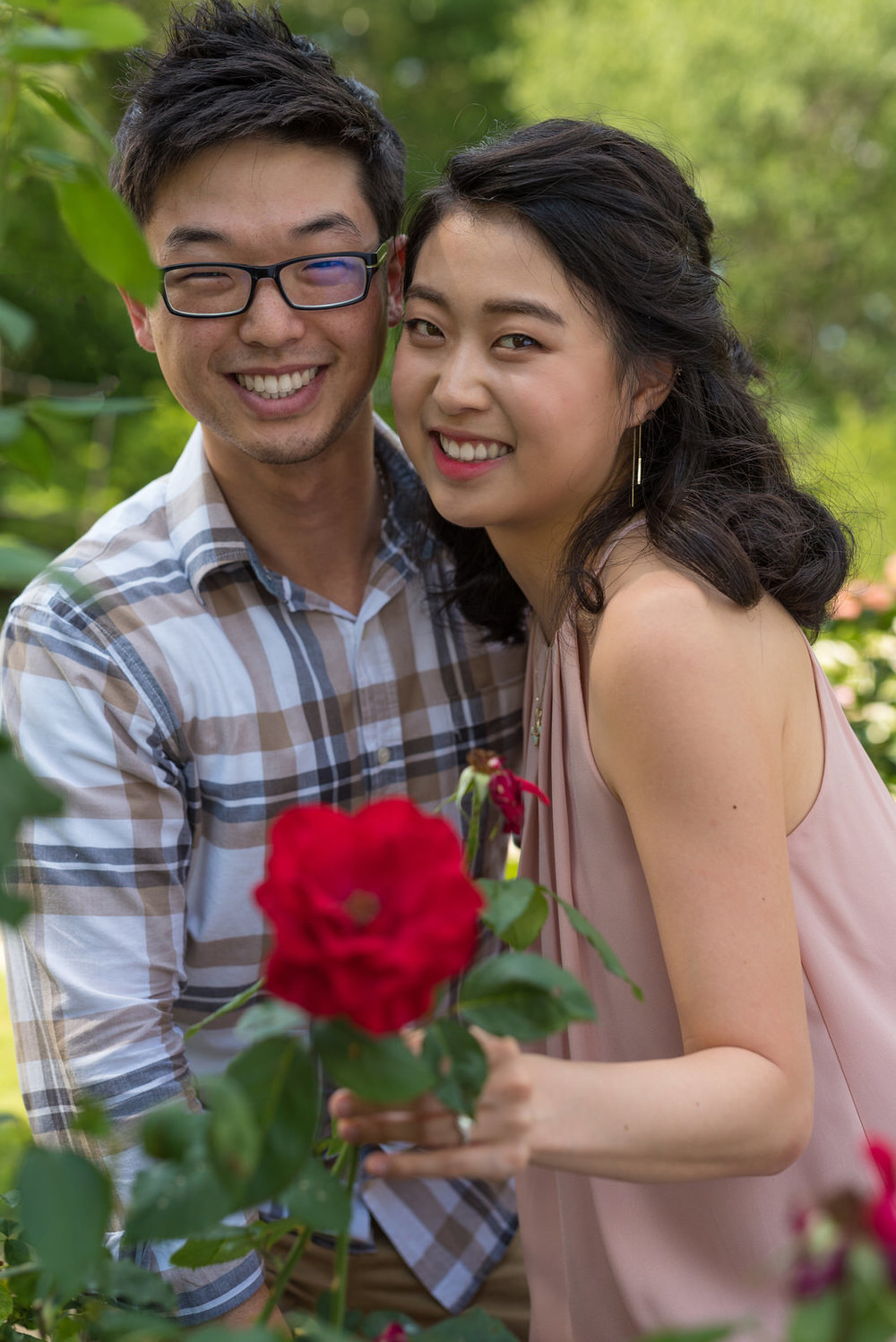 Engagement Photo Session at Smith-Gilbert Gardens