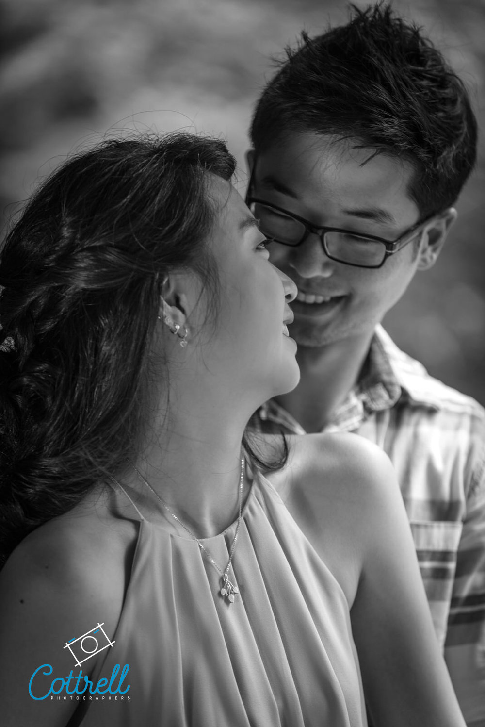 Engagement Photo Session at Smith-Gilbert Gardens, Kennesaw, Georgia