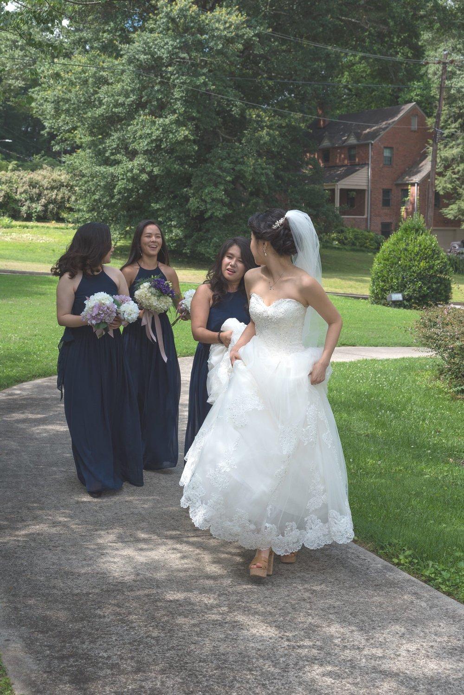 Atlanta Georgia, Church Wedding Photos of Bride