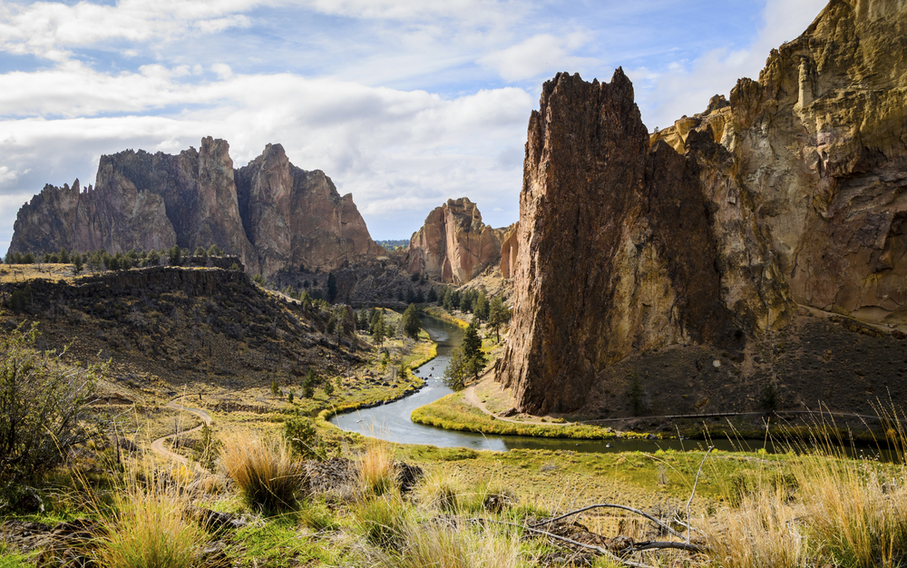 Smith Rock State Park is less than 30 miles away