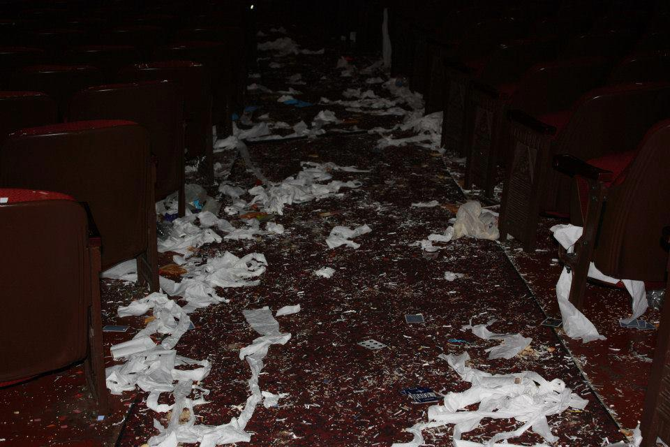 AFTERMATH AT THE PALACE THEATRE 2014