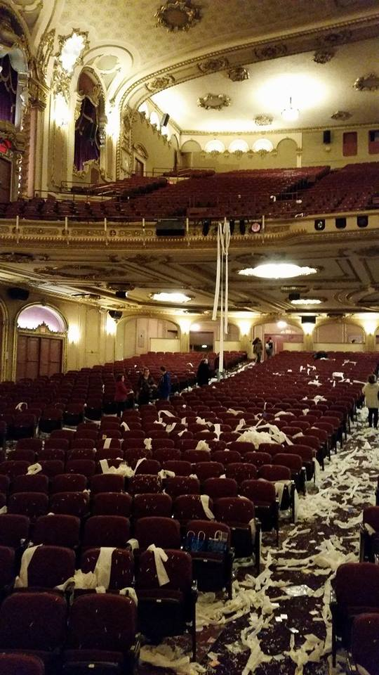 THE PALACE THEATRE AFTERMATH 2013