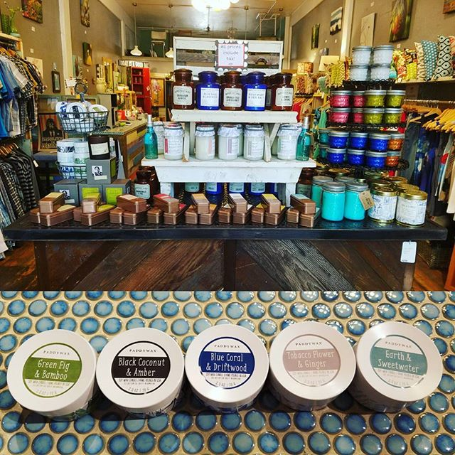 Fresh scents and new designs from @PaddyWaxCandles now available at Jax Joon!