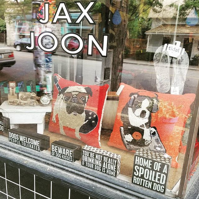 Jax Joon loves dogs, bring yours in for a treat this weekend!