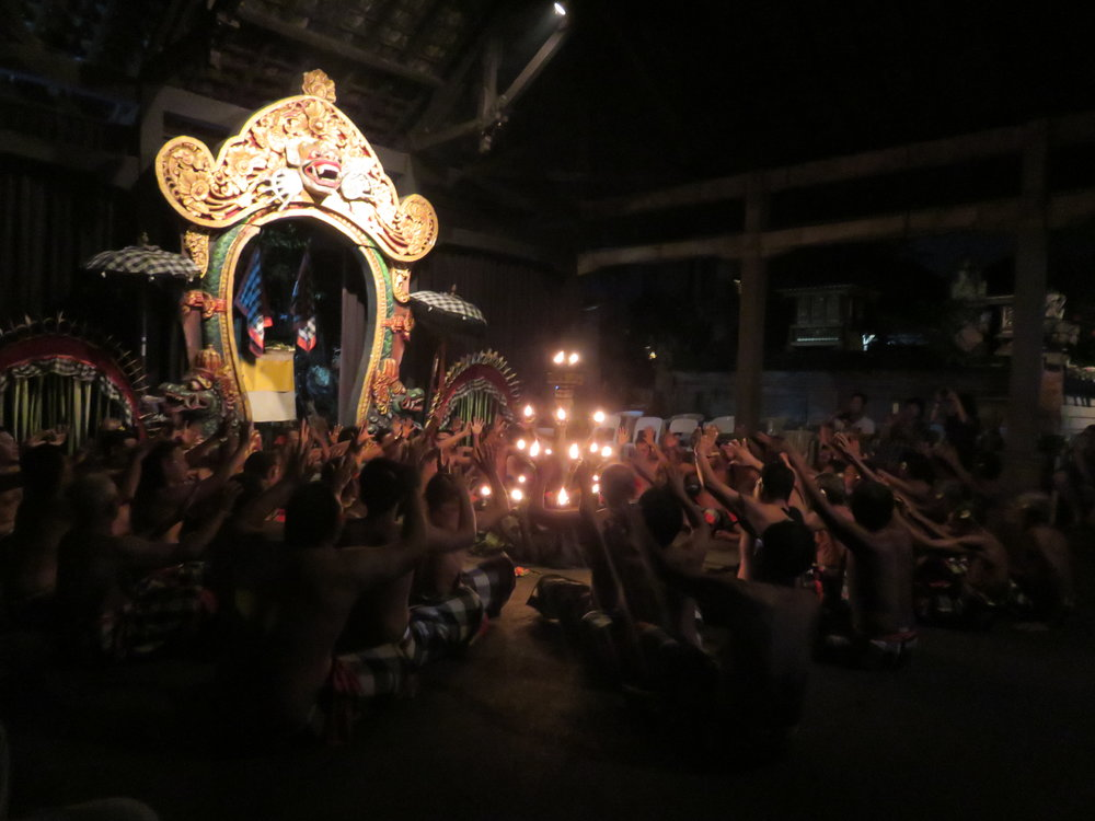 Definitely pay to see the Kecak dance in Indonesia.