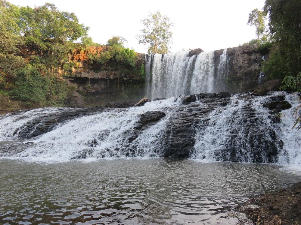 Boo Sra Waterfall, Mondulkir, Cambodia