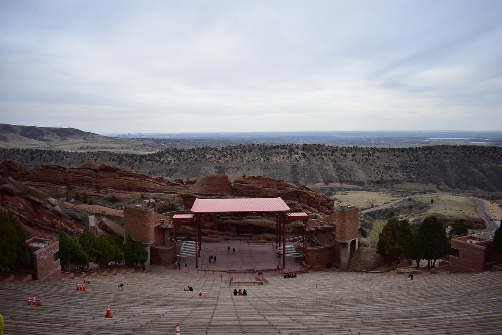 Red Rocks Amphitheater - Denver