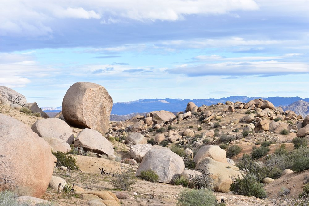 Garth's Boulders - Joshua Tree