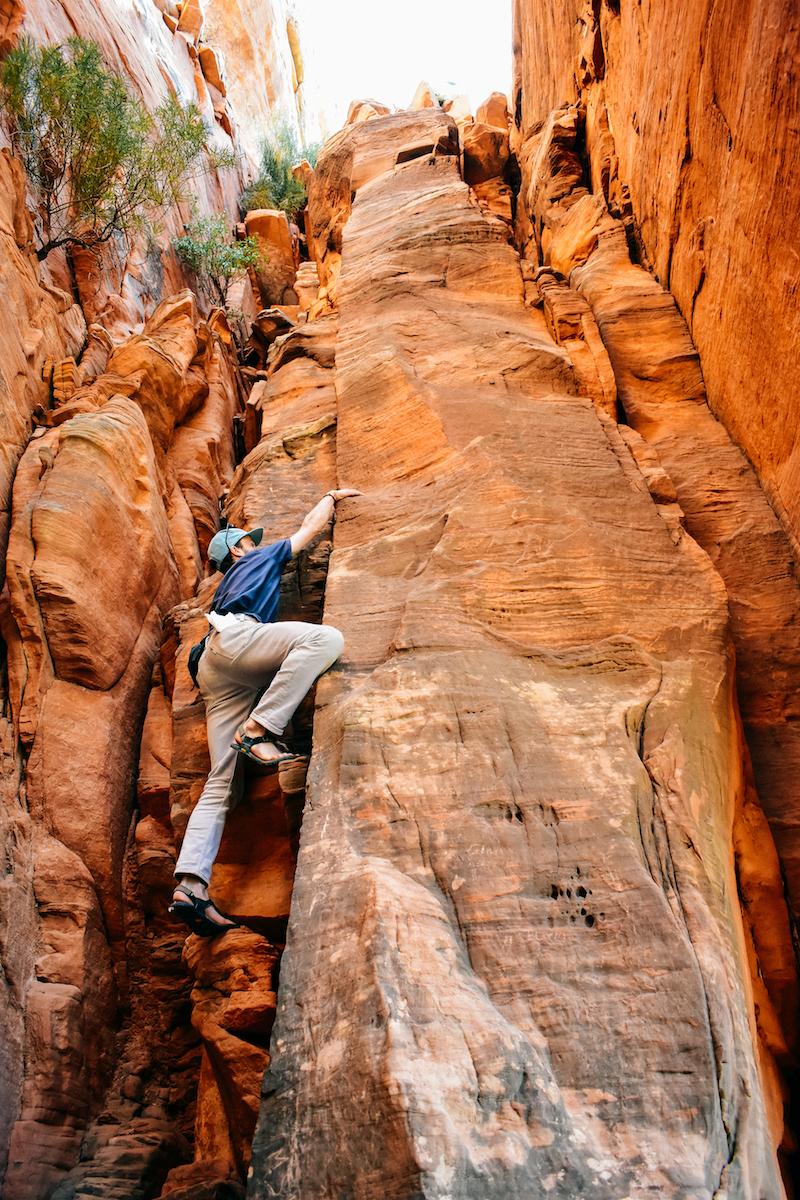 Climb stuff