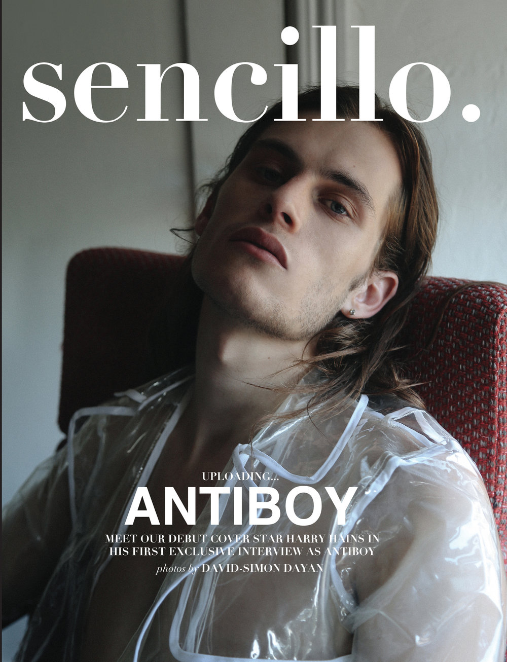 ANTIBOY / SENCILLO MAG COVER STORY    Editorial with musician Antiboy for Sencillo Magazine.  Click title to be redirected.